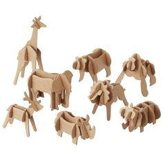 Cardboard animals - MUJI