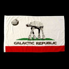 """""""Galactic Empire"""" flag $24.99 **Flag day next year will be EPIC!**"""