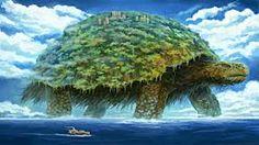 Image result for village on turtle fantasy
