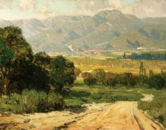 Hanson Puthuff - my dad loved paintings like this, and painted a few of his own.