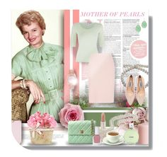 """""""MOTHER OF PEARLS"""" by angelflair ❤ liked on Polyvore featuring Armani Collezioni, Prada, Paul & Joe, Ted Baker, tenoverten, Rolex, H&M, Chanel and BY SOPHIE"""