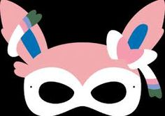 Heres A Printable Pokemon Trainer Mask Which You Canu2026 | Kiddie Crafts |  Pinterest | Pokémon, Costumes And Pokemon Party