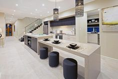 Integrated dining table kitchen bench