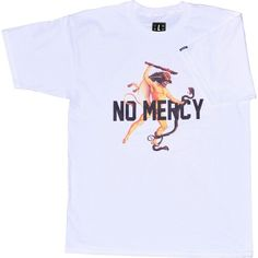 """No Mercy"" in White www.nkdscty.com"