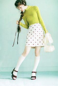 nogizaka46 | Tumblr Saito Asuka, Cute Skirts, Asian Woman, Girl Photos, Pink Girl, Pin Up, Ballet Skirt, Poses, Womens Fashion