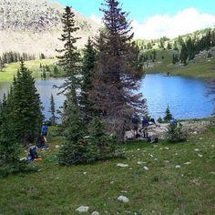 Base camp at upper 3 mile - Pagosa Springs CO