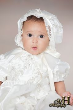 Did I do that?  Adorable Christening Photos at Westbury Camera & Studios