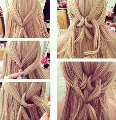 DIY penteado fácil de fazer