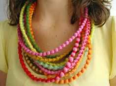Image result for fabric jewellery