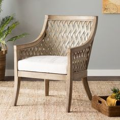 Beachcrest Home Attie Armchair Color: Grey Wash Living Room Chairs, Living Room Furniture, Home Furniture, Dining Chairs, Furniture Removal, Cheap Furniture, Furniture Buyers, Furniture Market, Lounge Chairs