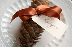 5 Thanksgiving Place Card Ideas