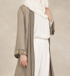 Modern modest outwear pieces by Inayah Islamic Fashion, Muslim Fashion, Modest Fashion, Fashion Outfits, Modest Wear, Modest Dresses, Modest Outfits, Inayah Collection, Hijab Collection