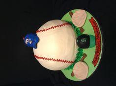 baseball cake for twins Twins Cake, Sweet Cakes, Birthdays, Happy Birthday, Baseball, Board, Desserts, Kids, Candy Cakes