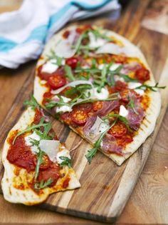 Quick grilled pizza | Jamie Oliver