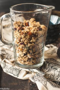 All natural pumpkin seed and hazelnut granola