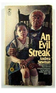 An Evil Streak by Andrea Newman (1979, Paperback) Acceptable, OUT-OF-PRINT