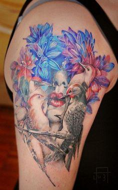 ТАТУ-МАНИЯ — тату цветы, татуировки цветы, тату эскизы цветы, тату цветы фото…
