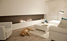 EcoSmart fireplaces can be installed anywhere, without the need for a chimney