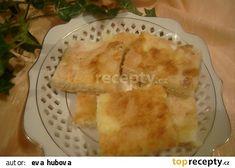 Sypaná tvarohová buchta recept - TopRecepty.cz Cornbread, Pineapple, Sweets, Cheese, Fruit, Ethnic Recipes, Desserts, Food, Pastries
