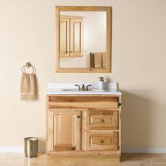 SHAKER STYLE BATHROOM VANITY CABINET Dimensions: 48 wide ...