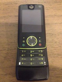 Motorola RIZR Z8 - Black (Unlocked) Smartphone * The Bourne Identity Edition*