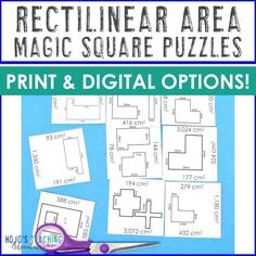 Practice Area of Rectilinear Figures with this hands-on, engaging, critical thinking game. It's a great extra practice activity for 3rd or 4th graders. Plus it includes print AND digital options! Great for centers, stations, review, test prep, and more. Get yours today! #3rdGradeMath #4thGradeMath 4th Grade Classroom, 4th Grade Math, Third Grade, Help Teaching, Teaching Ideas, Reading Recovery, Ell Students, Special Education Teacher, Test Prep