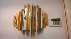 Coat rack made from the scrap packing wood my washing machine arrived in