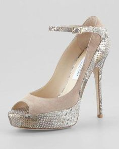 02923247403 Tami Suede Metallic-Snake Pump by Jimmy Choo at Neiman Marcus.   SauconyRide9Womensshoes Fancy