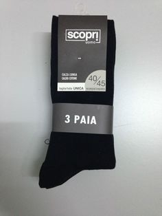 set 12 paia calza lunga COTONE CALDO PRISCO SCOPRI t.unica ass.colori