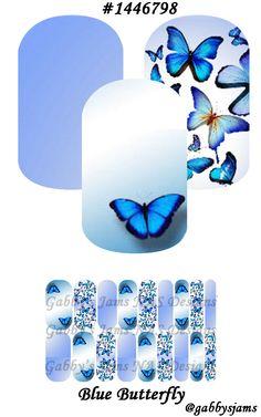 Gabbys Jams NAS Designs Jamberry NAS Wraps Blue Butterfly. Shop online: https://www.jamberry.com/us/en/shop/marketplace/gabbysjams Come check our my groups: https://www.facebook.com/groups/gabbysjamsnasdesigns or https://www.facebook.com/gabbysjams/