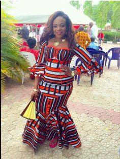 If yes, try some of the latest Ankara styles we have lined up for you today. They are sexy, sassy and look absolutely gorgeous. African Print Dresses, African Dresses For Women, African Wear, African Attire, African Fashion Dresses, African Women, African Prints, African Style, Ankara Fashion