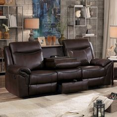 8206 Reclining Sofa By Homelegance