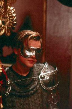 Leonardo DiCaprio in Romeo + Juliet directed by Baz Luhrmann, 1996