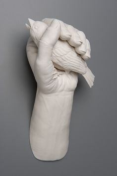"...they say it's worth 2 in the bush.    Kate Macdowell's ""In The Hand 2"""