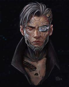"For the contest ""Samurai vs Shinobi"" Cyberpunk 2077, Cyberpunk Kunst, Character Concept, Character Art, Concept Art, Character Design References, Crypto Apex Legends, Cyberpunk Aesthetic, Futuristic Art"