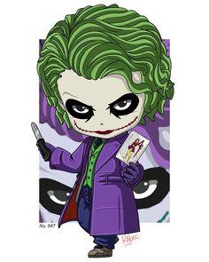Guasón. Harley Quinn Drawing, Joker And Harley Quinn, Desenho Kids, Joker Cartoon, Joker Drawings, Chibi Marvel, Joker Wallpapers, Scary Art, Joker Art