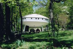 Space house in Signal Mountain, Tennessee