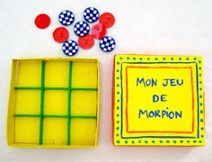 Un jeu de morpion fait maison - Grandir avec Nathan Recycled Bottles, Kids And Parenting, Diy For Kids, Fathers Day, Board Games, Activities For Kids, Origami, Diy Crafts, Homemade