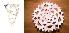 Jak zrobić śnieżynki z papieru – szablony (DIY)   Mamotoja.pl Origami, Kindergarten, Patterns, Rugs, Christmas, How To Make, Home Decor, Block Prints, Farmhouse Rugs