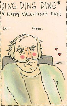Breaking Bad Valentine's Day Card