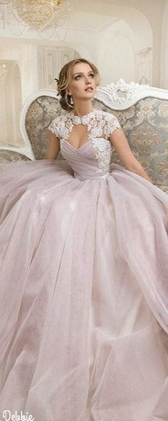 idk how tiana would feel about the cap sleeves but this is suuuuch a princess dress Pink Wedding Dresses, Wedding Gowns, Prom Dresses, Formal Dresses, Flapper Dresses, Beautiful Gowns, Beautiful Outfits, Fairytale Dress, Quinceanera Dresses