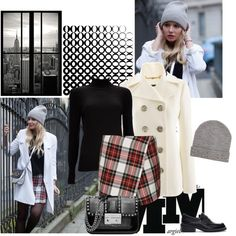 """The fashion fruit - tartan skirt"" by sarapires on Polyvore"