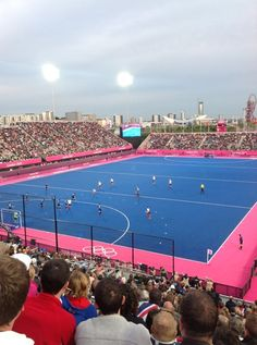 Nicki G.'s photo of London 2012 Riverbank Arena on Foursquare