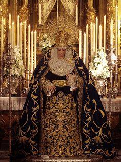 Mª. Sta de la Cabeza (Hdad de Las Siete Palabras,sevilla). Festividad de la Inmaculada