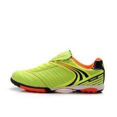 0fc893d0f3 TIEBAO E1220A Profesional Niños Zapatos Negro Azul Fluorescente de Color  Amarillo de Fútbol de Fútbol Botas Tamaño de LA UE 34-38 de Fútbol TF botas