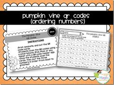 Integrate technology by using QR codes within your math stations!
