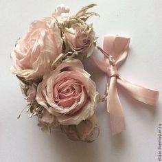 Картинки по запросу цветы из шифона  и шелка стильные штучки