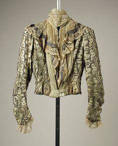 Two-Piece Dress (image 1) | French; Paris | 1899 | silk | Metropolitan Museum of Art | Accession #: 35.134.7a, b