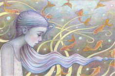 She closed her eyes and dreamt of the silent sea by kathyhare, £13.00