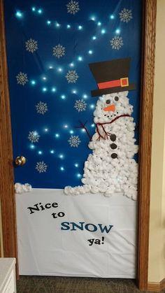 24 Best Christmas Door Decorating Contest Images